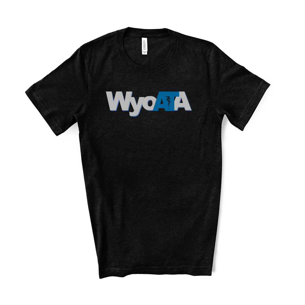 WYOATA – Heather Black T-shirt