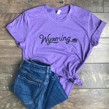 Wyoming Heather Purple Tee