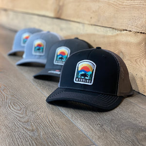 Wyoming Skyline Patch Hat