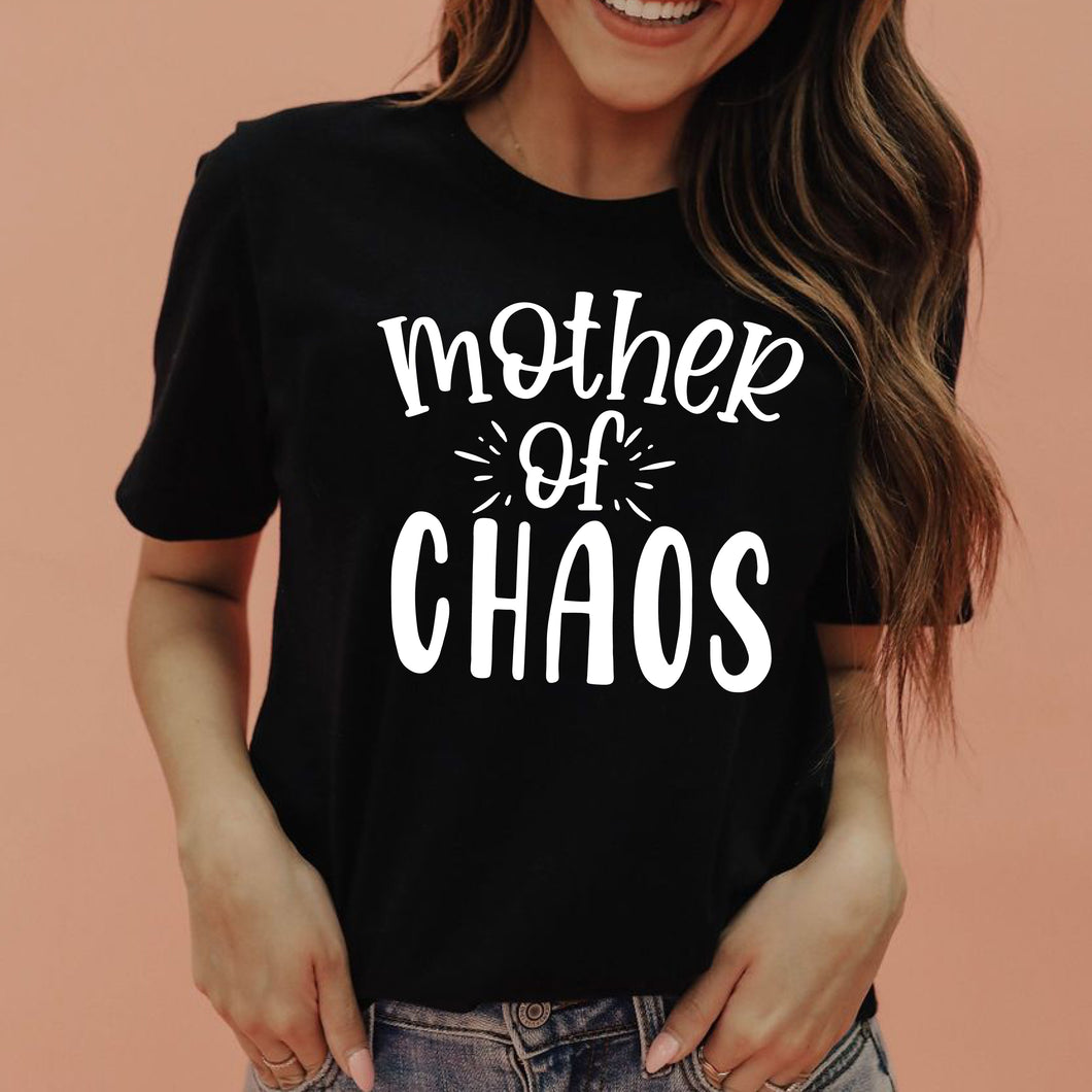 Mother of Chaos Unisex CVC Jersey Tee - Black