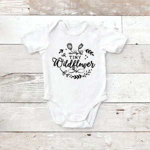 Tiny Wildflower - Baby Onesie - Mommy & Me Set
