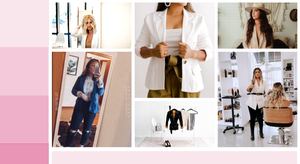 womens blazers, salon outfits, hairstylist outfits