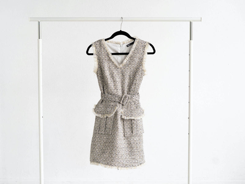 INA Fashion Tweed Dress