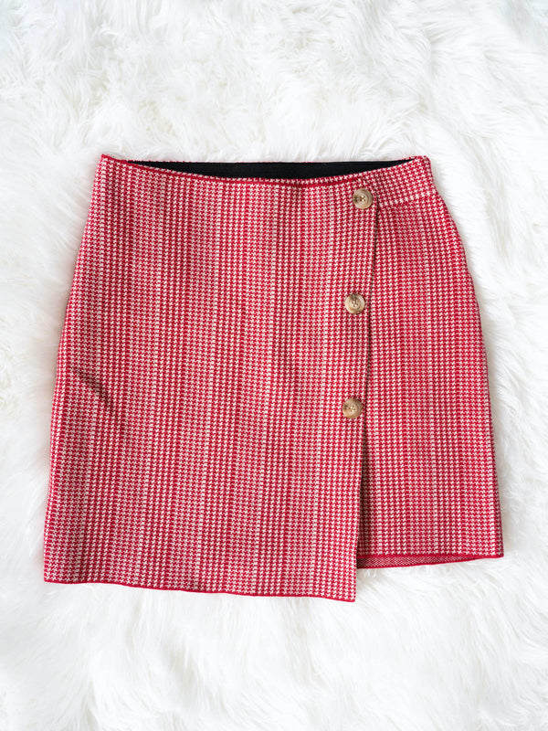 Gilli Plaid Skirt