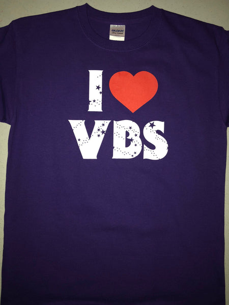Youth I Love VBS Shirt