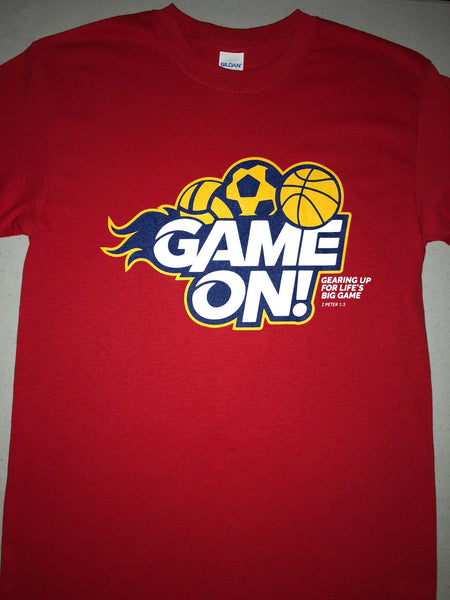 Youth Game On T-Shirt
