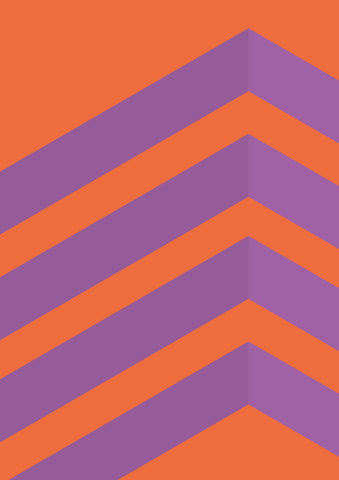 Striped Colored Corners #04