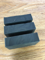 Activated Charcoal with Tea Tree and Peppermint cold processed soap