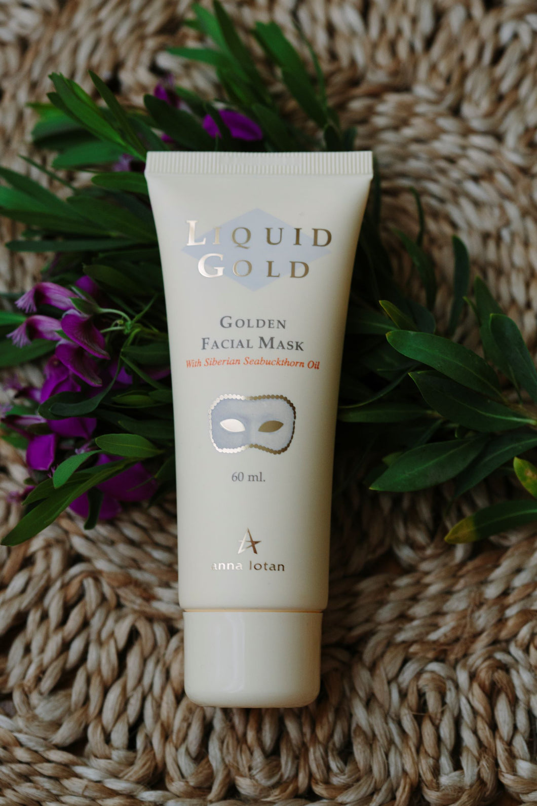 anna lotan liquid gold facial mask