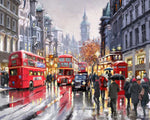 Paint By Numbers - London In The Rain