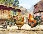 Farmyard Chickens