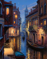 Paint By Numbers - Venice Canal