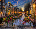 Paint By Numbers - Amsterdam Sunset