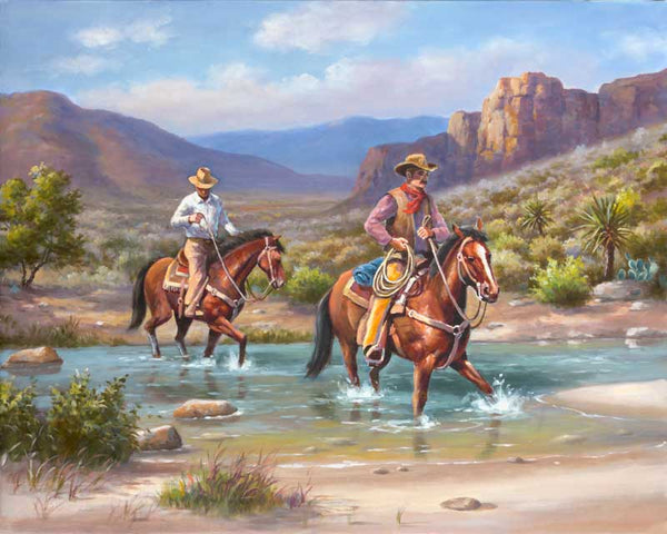 Paint By Numbers - Cowboys