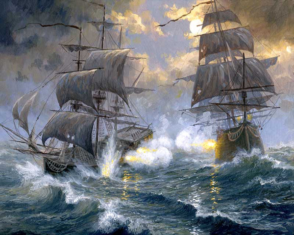 Paint By Numbers - Battle On The High Seas