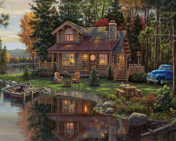 Paint By Numbers - Peace River Cabin