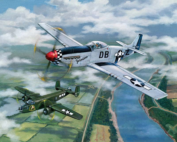 Paint By Numbers - Fighter And Bomber