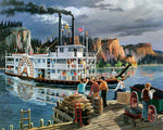 Paint By Numbers - Riverboat