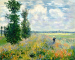 Claude Monet - Poppy Fields Near Argenteuil