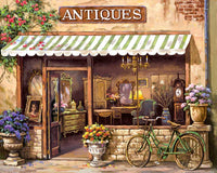 Paint By Numbers - Antique Shop