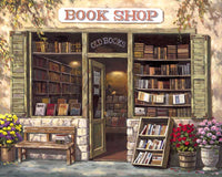 Paint By Numbers - Book Shop