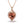 Load image into Gallery viewer, Morganite Necklace with D Flawless Diamonds set in 18K Rose Gold