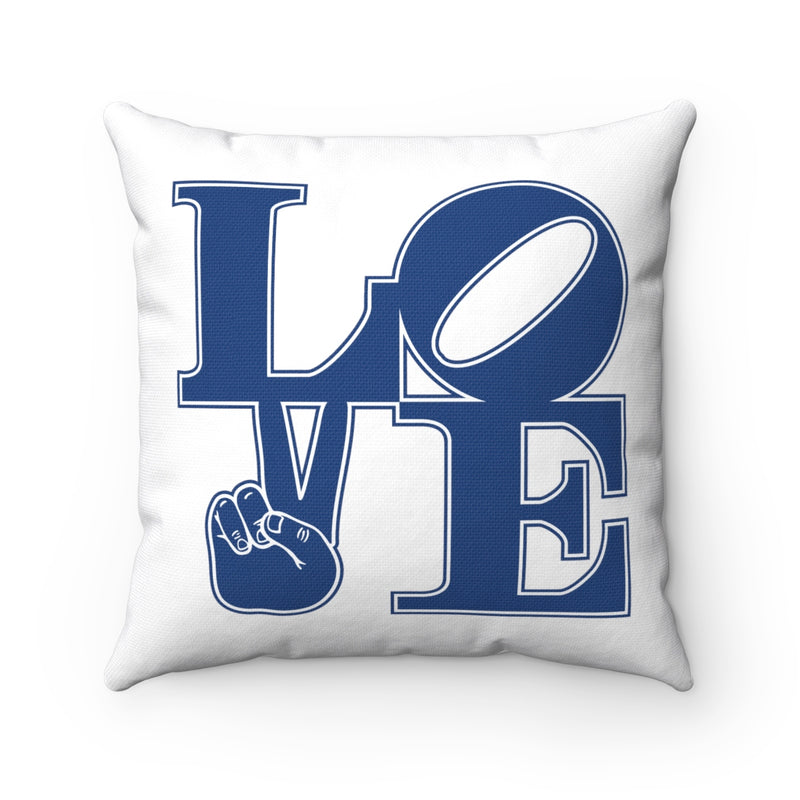 LOVE Polyester Square Pillow
