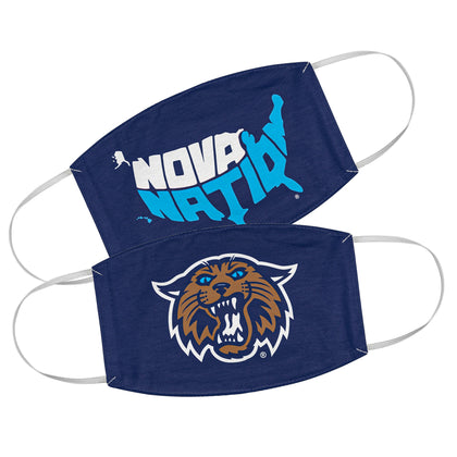 Villanova 2-Pack Face Masks