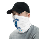 National Champions Neck Gaiter (WHITE)