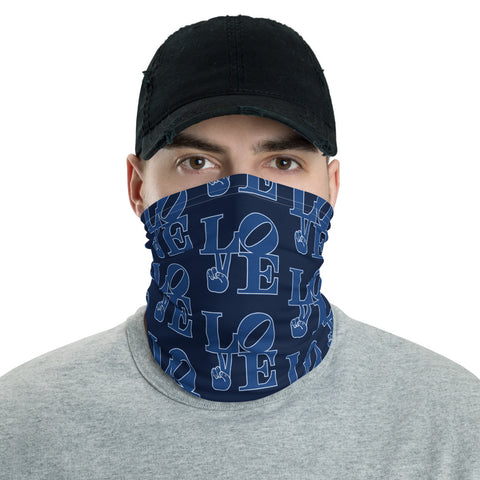 LOVE Neck Gaiter (NAVY)