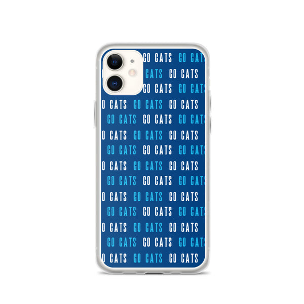 Go Cats iPhone Case