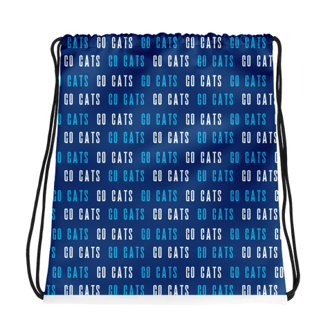 Go Cats Drawstring Bag
