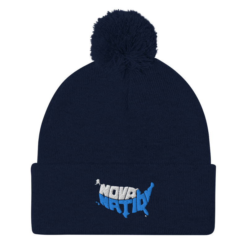 Nova Nation Pom-Pom Beanie