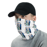 Fr. Peter's Lonely Hearts Club Band Neck Gaiter (WHITE)