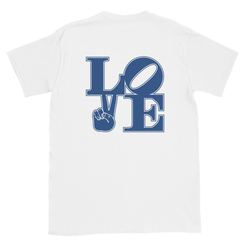 """LOVE"" Double-Sided Unisex T-Shirt"