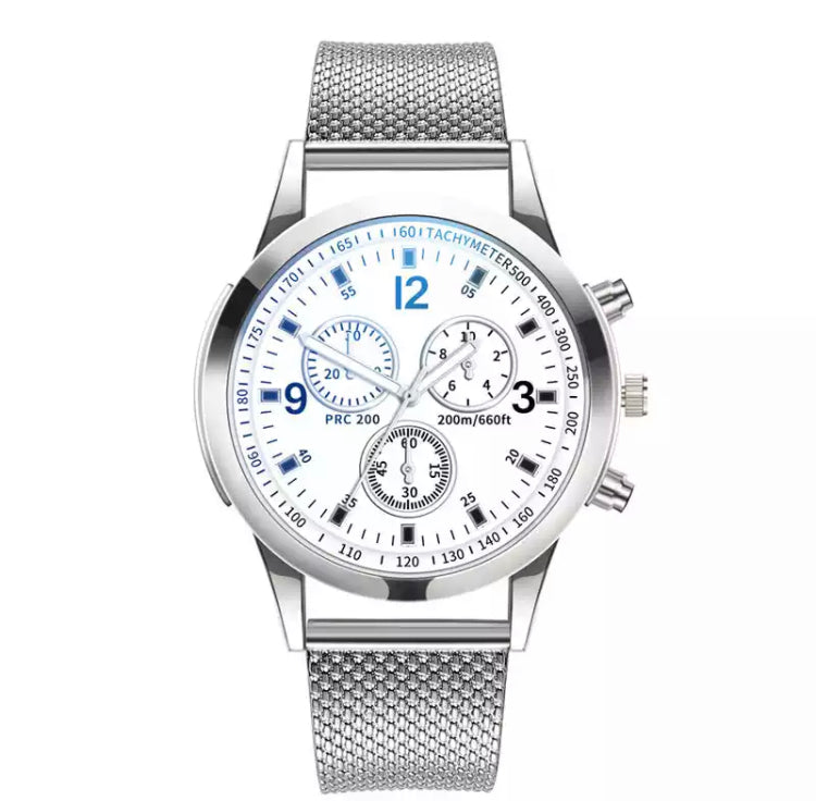 WatchStyle Carrera Silver White