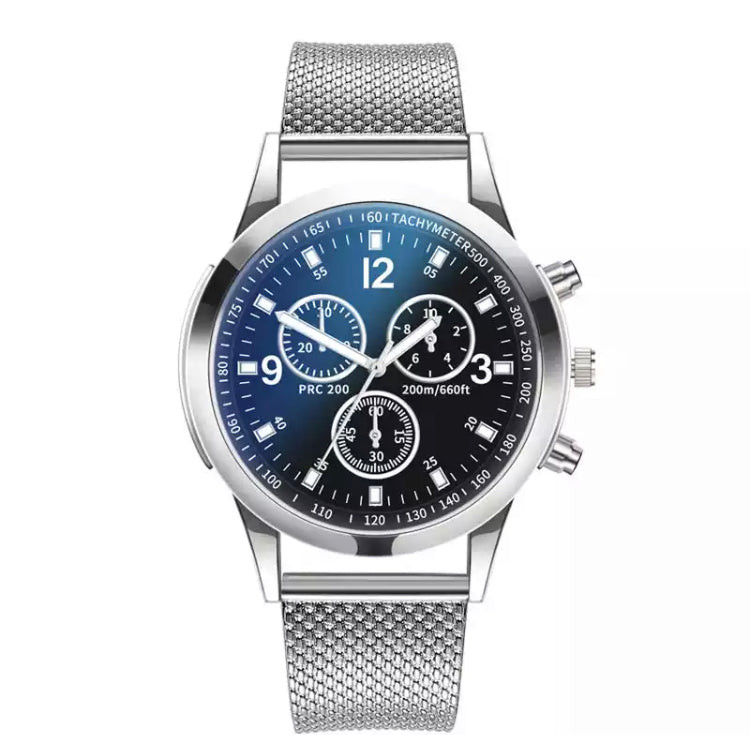 WatchStyle Carrera Silver Blue