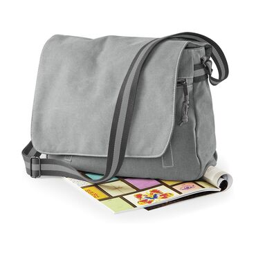 Messenger HK Grey