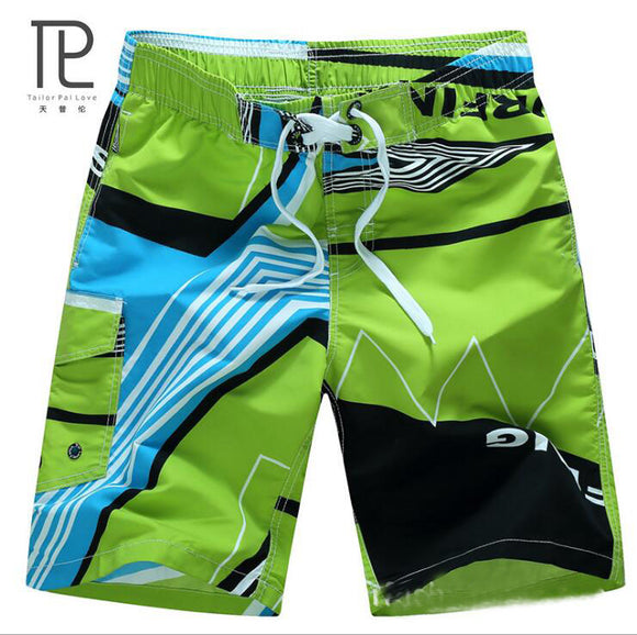 Tailor Pal Love Men Beach Shorts  Quick Drying Casual Clothing Shorts Homme Outwear Shorts Mens Board Short Plus Size M-6XL#A0