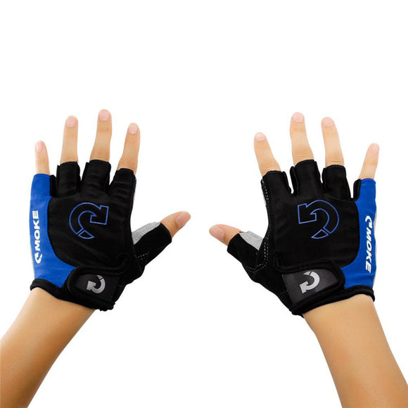 Men's Cycling Gloves Comfortable Bicycle Sports Half Finger Anti-slip Gel Pad Motorcycle MTB Road Bike Gloves S-XL New 2017