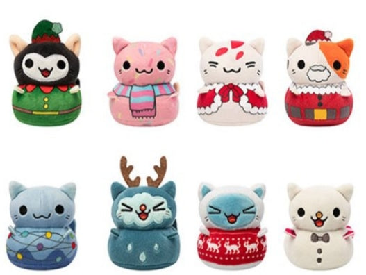 Kleptocats Holiday Plush Mini-Figure