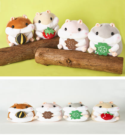 Scooshin Hamster Plush