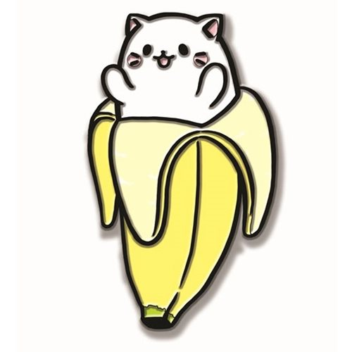 Banana Cat Pin