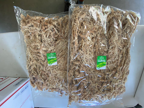 New Zealand premium extra long 5A spagnum moss