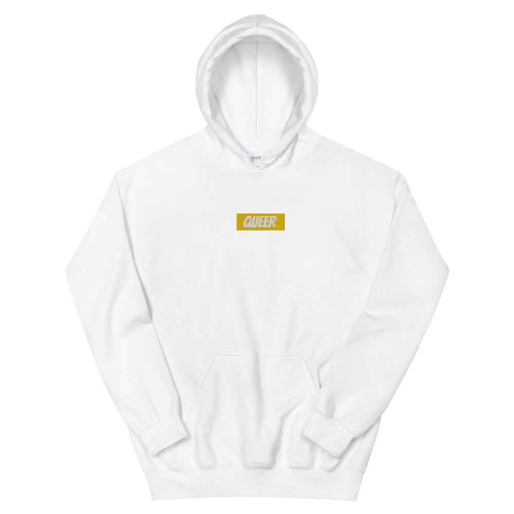 Queer Embroidered Unisex Hoodie