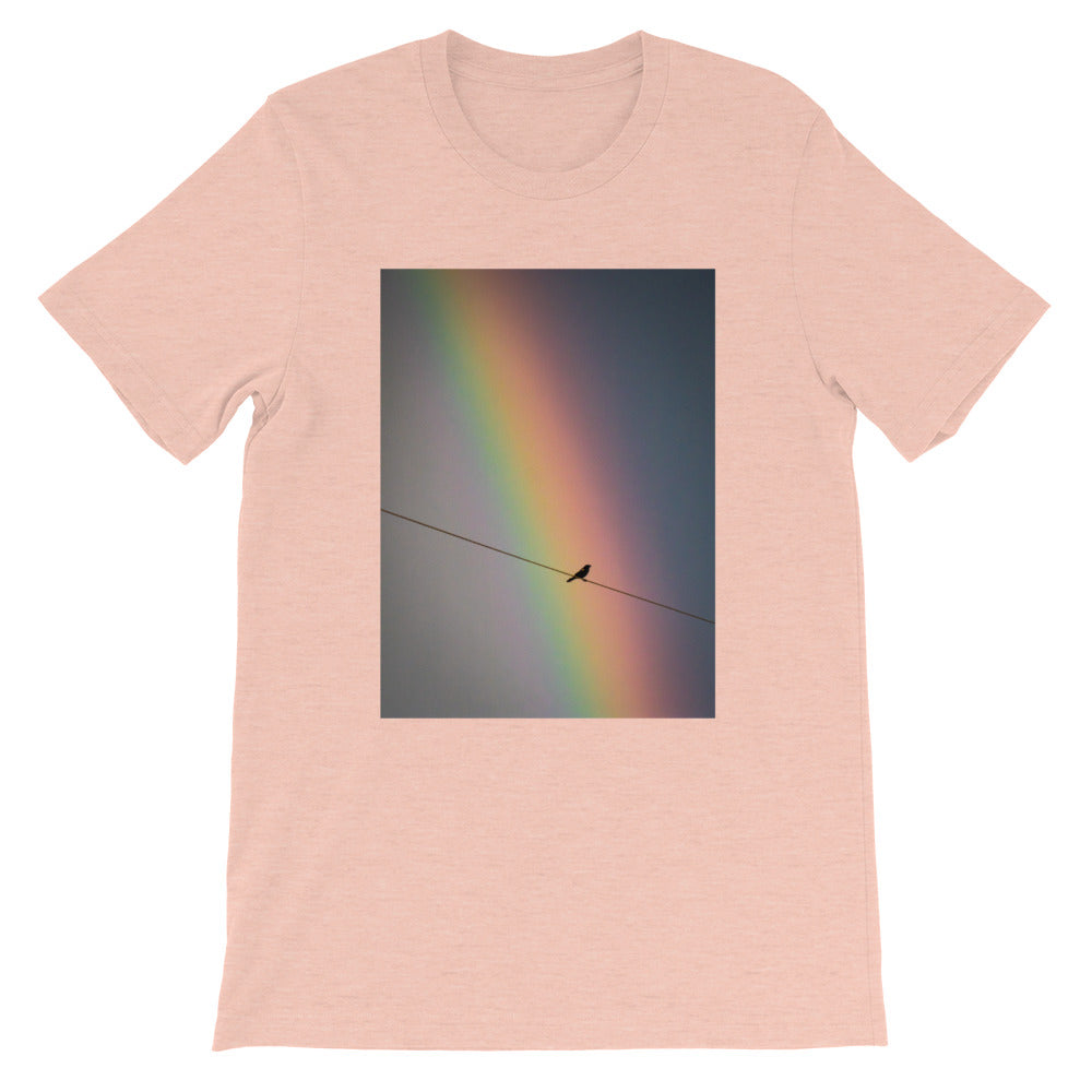 Bird on a Wire Short-Sleeve Unisex T-Shirt
