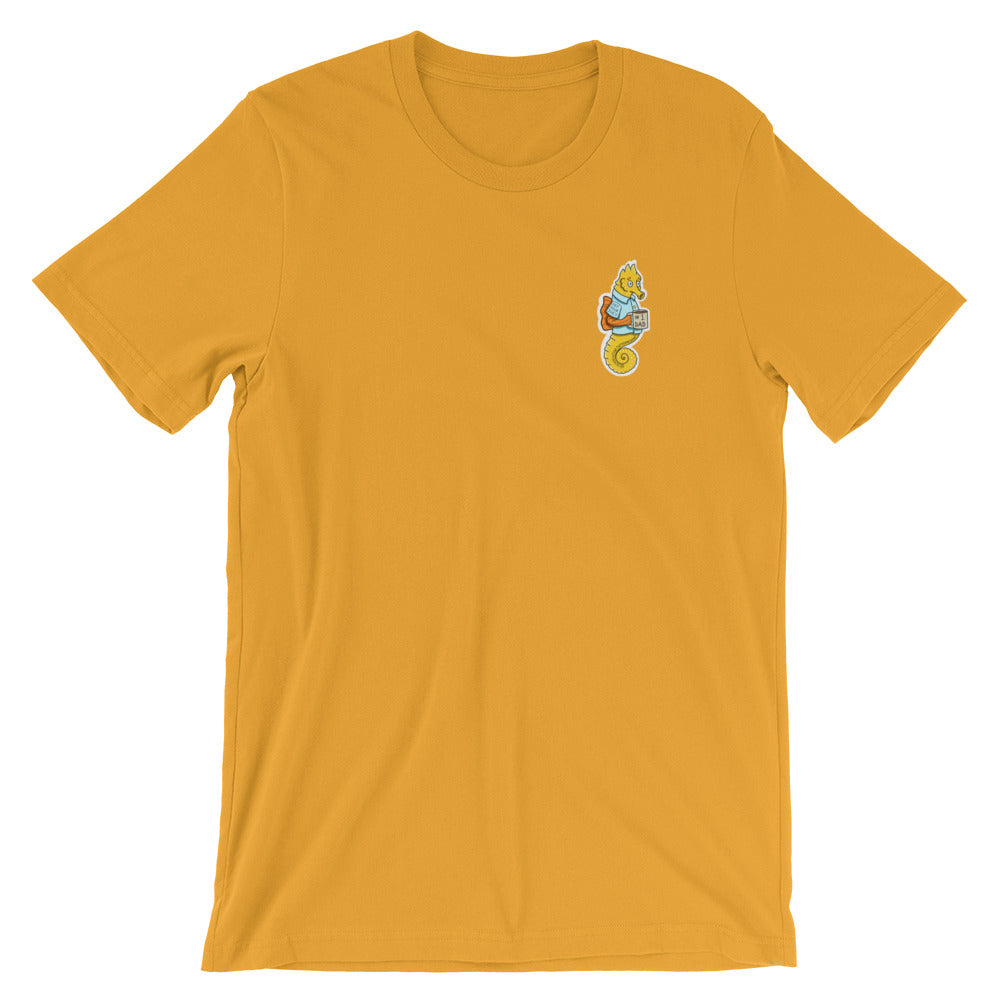 #1 Dad Short-Sleeve Unisex T-Shirt