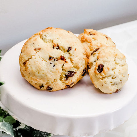 "Image of Holiday ""Nice"" Box of Large Scones"
