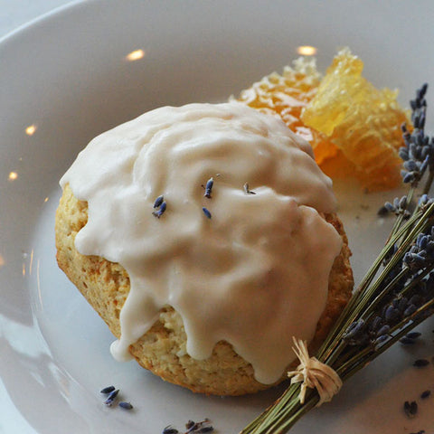 Spring Collection: Lavender Honey Sconie (Mini-Scone)