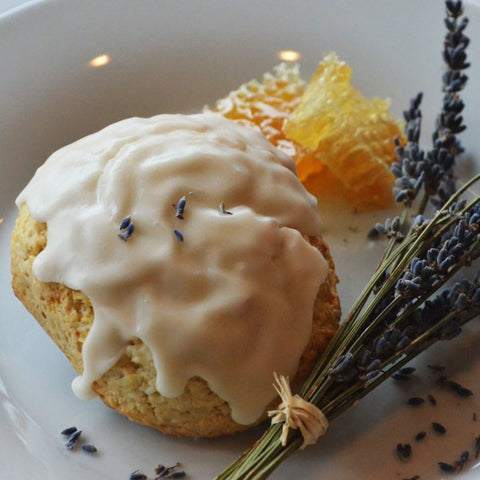 Spring Collection: Lavender Honey Scone
